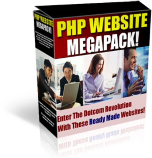 Thumbnail PHP WEBSITE SCRIPTS MEGAPACK!